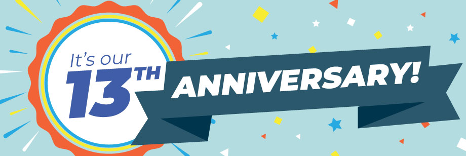 Celebrating 13 Years, and Counting, of Healthcare Marketing
